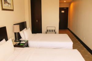Pokój z 2 łóżkami pojedynczymi – dla palących