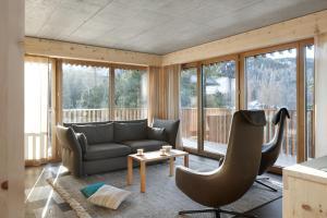 Alpine Lodge Chesa al Parc, Apartmanok  Pontresina - big - 11