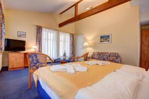 Haus Seeblick Hotel Garni & Ferienwohnungen, Hotely  Zinnowitz - big - 22