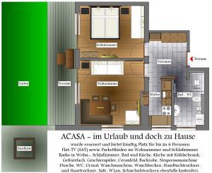 Acasa, Apartmány  Nauders - big - 49