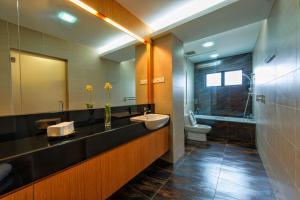 LSE @ Palm Garden Condominium, Ferienwohnungen  Johor Bahru - big - 35