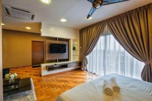 LSE @ Palm Garden Condominium, Ferienwohnungen  Johor Bahru - big - 31