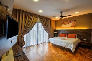 LSE @ Palm Garden Condominium, Ferienwohnungen  Johor Bahru - big - 27