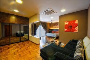 LSE @ Palm Garden Condominium, Ferienwohnungen  Johor Bahru - big - 25