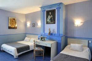 Logis Hostellerie Du Cheval Blanc, Отели  Сент-Мор-де-Тур - big - 6