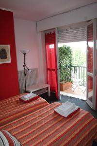 Guesthouse La Rocca, Penziony  Grassobbio - big - 6
