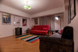 Maison du Film au Centre-Ville, Apartmanok  Bukarest - big - 17