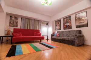Maison du Film au Centre-Ville, Apartmanok  Bukarest - big - 15