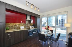 Two-Bedroom Apartment with Balcony and CN Tower View