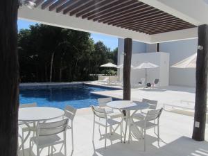 Questzal D7 Bahia Principe Sian Kaan 2BDR Penthouse, Apartmány  Akumal - big - 21