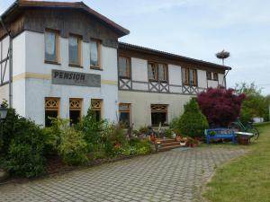 Pension Moritz und Hofladen unterm Storchennest