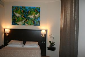 Les Deux Frères, Hotel  Roquebrune-Cap-Martin - big - 9