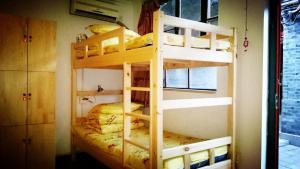 Bett im 4-Bett-Schlafsaal