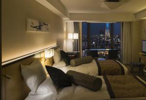Superior Twin Room with Tokyo Sky Tree View - Non-Smoking