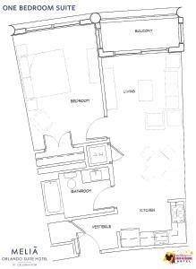 One-Bedroom Suite (2 Adults + 2 Children)