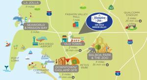 Hampton Inn San Diego Mission Valley, Hotels  San Diego - big - 7