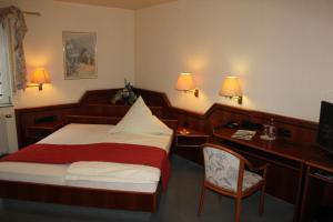Hotel & Restaurant Zum Vater Rhein, Szállodák  Monheim - big - 13