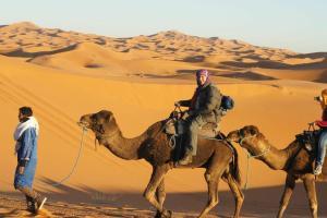 Marhaba Camp, Camel & Sandboarding, Luxury tents  Merzouga - big - 81