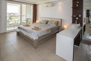 Babylon Beach Residence 2, Apartmanok  Side - big - 26