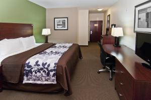 Sleep Inn & Suites Bush Intercontinental - IAH East, Отели  Хамбл - big - 2