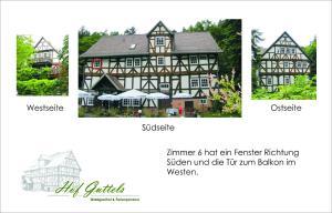 Hof Guttels Waldgasthof Ferienpension, Penzióny  Rotenburg an der Fulda - big - 86
