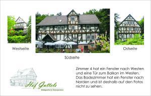 Hof Guttels Waldgasthof Ferienpension, Penzióny  Rotenburg an der Fulda - big - 88