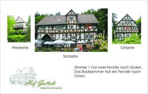 Hof Guttels Waldgasthof Ferienpension, Penzióny  Rotenburg an der Fulda - big - 90