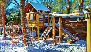 Cabaña Suiza, Lodge  Cacheuta - big - 33