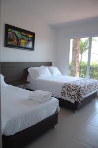Hotel Campestre San Juan de los Llanos, Виллы  Yopal - big - 5