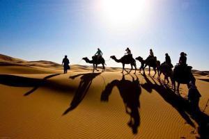 Marhaba Camp, Camel & Sandboarding, Luxury tents  Merzouga - big - 82