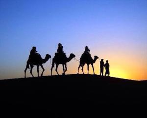 Marhaba Camp, Camel & Sandboarding, Luxury tents  Merzouga - big - 83