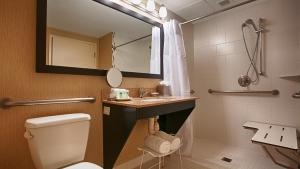 King Suite with Roll-In Shower - Disability Access