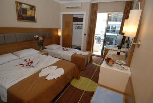 Oba Star Hotel - Ultra All Inclusive, Hotely  Alanya - big - 4
