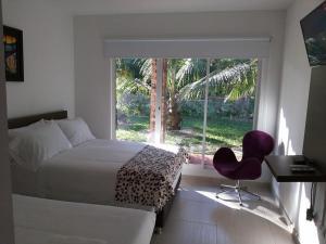 Hotel Campestre San Juan de los Llanos, Виллы  Yopal - big - 18