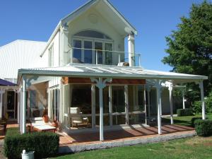 Oakhampton Lodge, Отели типа «постель и завтрак»  Rangiora - big - 9