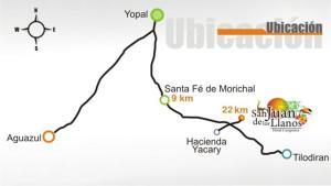 Hotel Campestre San Juan de los Llanos, Виллы  Yopal - big - 22