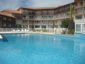 Appartements à côté Lac Marin de Port d'Albret, Apartmanok  Vieux-Boucau-les-Bains - big - 1