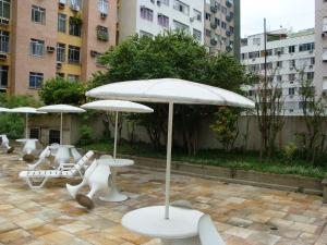 Apartamento Copacabana Barata Ribeiro, Апартаменты  Рио-де-Жанейро - big - 37