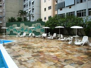 Apartamento Copacabana Barata Ribeiro, Апартаменты  Рио-де-Жанейро - big - 27