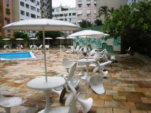 Apartamento Copacabana Barata Ribeiro, Апартаменты  Рио-де-Жанейро - big - 25