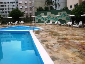 Apartamento Copacabana Barata Ribeiro, Апартаменты  Рио-де-Жанейро - big - 62