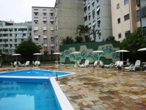 Apartamento Copacabana Barata Ribeiro, Апартаменты  Рио-де-Жанейро - big - 51