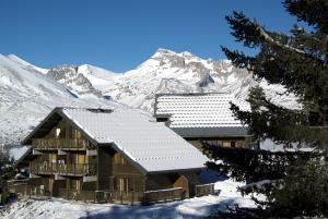 Les Chalets d'Aurouze, Aparthotely  La Joue du Loup - big - 19