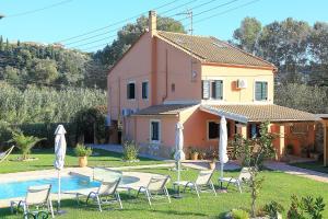 Villa Livadi, Ville  Magouládes - big - 12