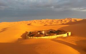 Marhaba Camp, Camel & Sandboarding, Luxury tents  Merzouga - big - 64