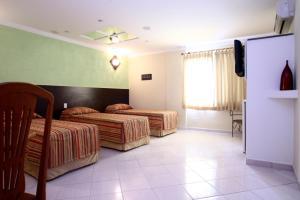 Monte Serrat Hotel, Hotel  Santos - big - 3