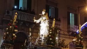 La Siciliana Ortigia, Apartmanok  Szirakúza - big - 15
