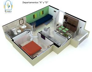 Departamentos Alhambra, Apartmány  Villa Gesell - big - 28