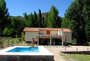 Las Espuelas Casas de Montaña, Chaty v prírode  Potrerillos - big - 44