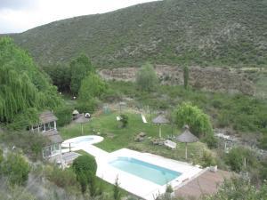 Cabañas Los Arreboles, Лоджи  Potrerillos - big - 17